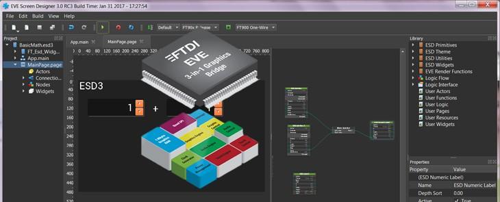 Design grafic HMI pur și simplu? ESD 3.x ȋl va rezolva